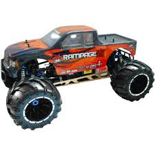 100 Remote Control Gas Trucks Rampage MT V3 Truck 15 Scale With 24GHz