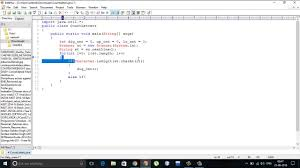 Counting Letters In A String Using Java YouTube