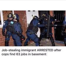 CK Job Stealing Immigrant ARRESTED After Cops Find 63 Jobs In Basement
