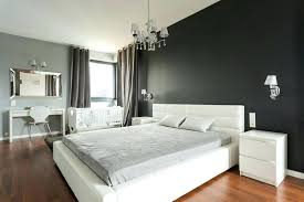 Grey Accent Wall Jaw Dropping Black Bedrooms Design Ideas Designing Idea Wallpapers Gray Dining Room Gra