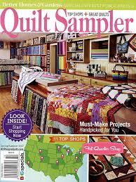 Quilt Sampler Magazine Spring Summer 2017 Issue