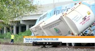 100 Railroad Truck TriRail Train Hits Garbage Truck In Lake Worth Sun Sentinel