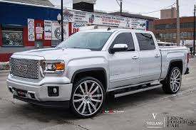 Custom White Lifted GMC Sierra Gains Chrome Details — CARiD.com Gallery Gmc Truck Wheels Chevy Kodiak Topkick 45500 Alcoa Alinum Wheels Buy 22x9 Chrome Sierra Style Set Of 4 22 Rims Fit Cadillac 28 Inch Wheels Rentawheel Ntatire Single For 12018 2500hd 35 Lift Kit Tuff Country 13085 2014 3500 Hd Denali Dually With 26 American Force 2018 3500hd Indepth Model Review Car And Driver 1500 Baller S116 Gallery Mht Inc 20x9 Wheel Fits Gm Trucks Satin Black 20 Rim 5668 28in Dub Exclusively From Butler Tires