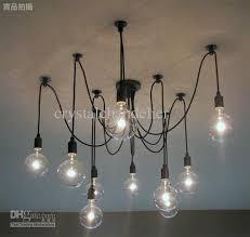 selling modern l 10 lights edison light bulb chandelier