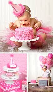 Birthday Decoration For 1 Year Old Baby Girl