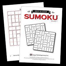 Print at Home Sumoku – Kappa Puzzles