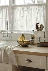 Kitchen Curtain Designs White