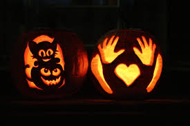 Drilled Pumpkin Designs by Cool Pumpkin Carvings That Are Easy My Web Value