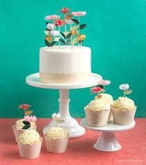 DIY Flower Cake Toppers