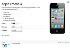 Bell iPhone 4S No Contract Pricing $649 $769 $869
