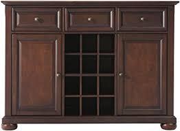 Crosley Furniture Alexandria Wine Buffet Sideboard