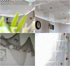 fischernetz deko bringt eine maritime stimmung ins haus