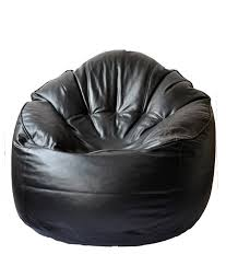 Products Tjar Leather Bean Bag Sofa Cover From Traders
