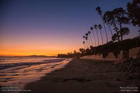 Butterfly Beach Sunset Montecito California