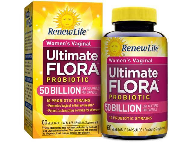 Renew Life Women's Vaginal Ultimate Flora Probiotic - 60 Vegetable Capsules