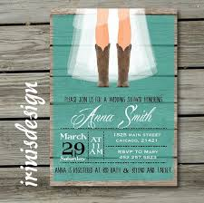 Country Wedding Shower Invitations Rustic Bridal Hoedown Invitation 2222459 Weddbook Ideas