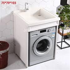 raum aluminium waschmaschine schrank haushalts balkon schrank bad wäsche pool becken kombination schrank m 01