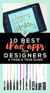10 Best IPad Apps For Designers