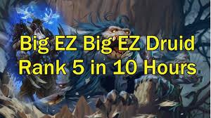r druid deck kft ladder decks for average chaps 1 big ez big ez hearthstone kft