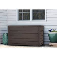 Keter Glenwood Deck Box Assembly by Keter 230 Gallon Deck Box Sam U0027s Club