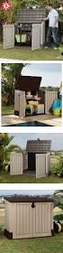 Lifetime 15x8 Shed Sams by Les 25 Meilleures Idées De La Catégorie Plastic Garden Storage Box