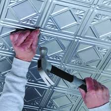 Usg Staple Up Ceiling Tiles by Installing Ceiling Tiles Armstrong Ceilings Residential