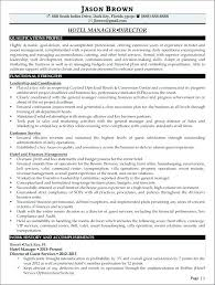 Sample Resume For Hotel Manager Samples Hospitality Industry Packed With Example A