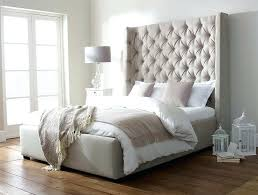 White Headboards King Size Beds by Tall Headboards For King Bedsupholstered Panel Headboard Tall
