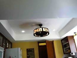 kitchen room fabulous kitchen ceiling fans with bright lights