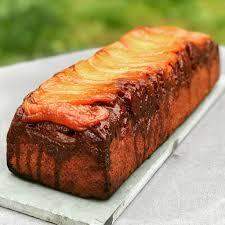 si e poire le cake choco poires au caramel patachou miam miam et compagnie