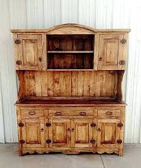 Reclaimed Wood Hutch Dining Room