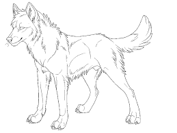 Free Printable Wolves Coloring Pages Sketch Page