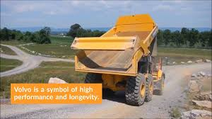 100 Articulating Dump Truck Volvo A60H Articulated Review YouTube