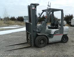 100 Nissan Lift Trucks Forklift Item DB6642 SOLD February 22 Constructi