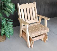 Royal English Outdoor Glider Chair Of Western Red Cedar ... Lakeland Mills Patio Glider With Contoured Seat Slats Briar Hill Adirondack White Cedar Outdoor Rocking Chair 5 Rustic Low Back Rocker Chairs The Ozark New York Craftsman Style Fniture Traditional Porch Sunnydaze Decor Fir Wood Log Cabin Loveseat Fan Design 2person 500 Lbs Capacity Generations Chaircedar Unfinished Branded Fish 25w X 36d 39h 23 Wide Swivel Natural High Double