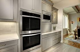 Drees Homes Floor Plans Dallas by Kitchen With Gray Cabinets A Double Oven And Stainless Steel The