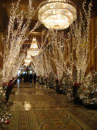 Type Of Christmas Tree Lights by The Roosevelt Hotel New Orleans At Christmas Happy Holidays