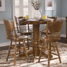 Nostalgia 5-Piece Round Pub Table Set By Liberty Furniture At Furniture And  ApplianceMart
