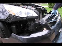 how to remove the front bumper cover headl assemblies and