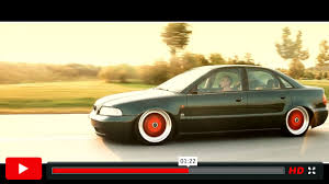 Slammed Audi A4 B5