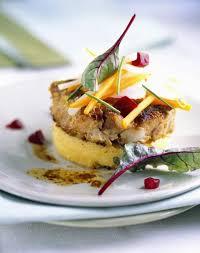 recette cuisine gastronomique simple tournedos de veau à la polenta et aux légumes cuisine