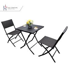 Details About HL Patio Resin Rattan Steel Folding Bistro Set, Parma Style,  All Weather 2019 Bistro Ding Chair Pe Plastic Woven Rattan 3 Piece Wicker Patio Set In Outdoor Garden Grey Fix Chairs Conservatory Clearance Small Indoor Simple White Cafe Charming Round Green Garden Table Luxury Resin China Giantex 3pcs Fniture Storage W Cushion New Outdo D 3piece For Balcony And Pub Alinum Frame Dark Brown Restaurant Astonishing Modern Design Long Dwtzusnl Sl Stupendous Metalatio Fabulous Home Tms For 4