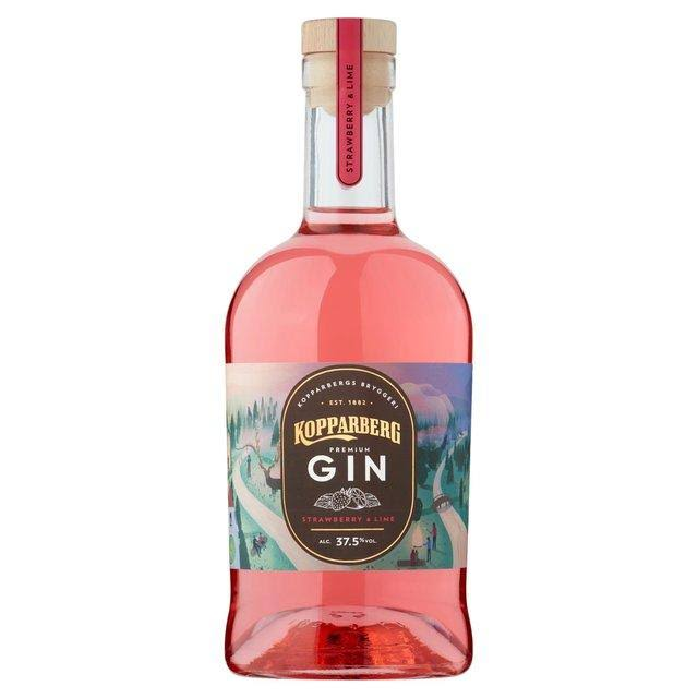Kopparberg Strawberry and Lime Premium Gin - 700ml