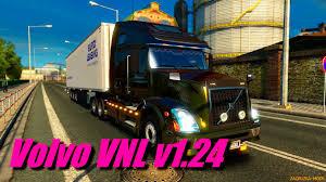 Volvo VNL 670 + Interior V1.24 For ETS 2 » Download Simulator Mods ...