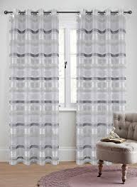 Sheer Curtain Panels With Grommets by Becca Set Of 2 Sheer Curtain Panels With Grommets 5 Colors