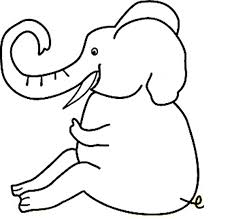 Elephant Coloring Pages Fish Pictures Free Kids Book