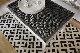 an old metal floor grate recycles into a new table oregonlive com