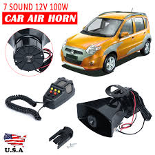 100W 12V Car Truck Alarm Police Fire Loud Speaker PA Siren Horn MIC ... 12v Loud Horn Car Van Truck 7 Sound Tone Speaker With Pa System Mic Train Air Dual Trumpet Very 12v 25l Tank Complete Kit Auto Accsories Headlight Bulbs Gifts Single Siren Snail Magic 8 Sounds Digital Electric Cheap Find Deals On Line At Alibacom Super Wcompressor 135db Universal High Quality Durable Set How To Make Louder Chevy Horns Sound Effect Youtube 5 Sounds 80w For H End 842017 115 Pm Zone Tech