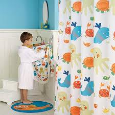Shower Curtains For Kids Bathrooms Perfect Ideas Kids Bathroom