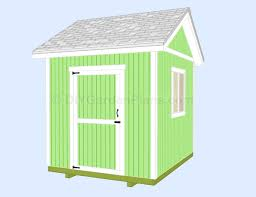 8x10 Shed Plans Materials List by Gable Shed Plans